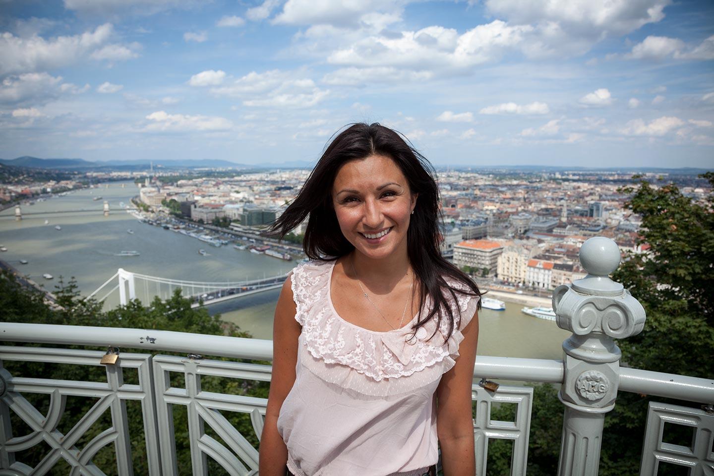 Paula In Budapest