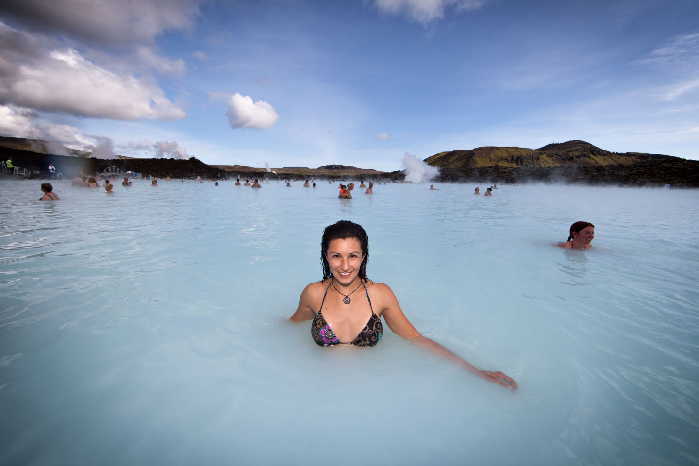 Paula At The Blue Lagoon