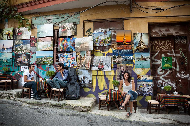 Street-Side Cafe
