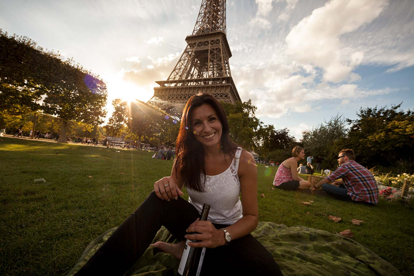 Paula At The Eiffel Tower