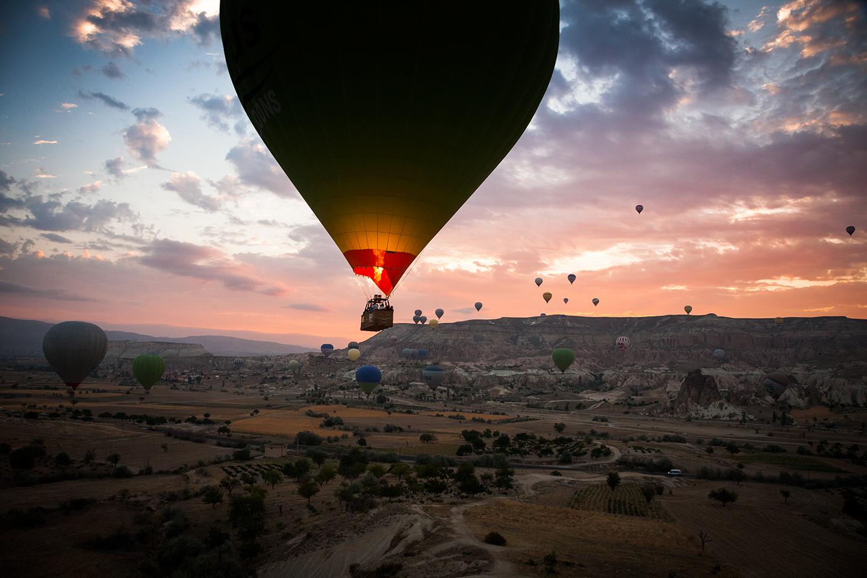 Ballon Rides In Cappadocia