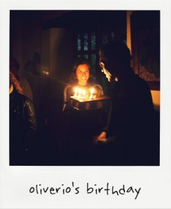Oliverio's Birthday