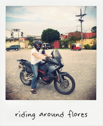 Riding In Flores