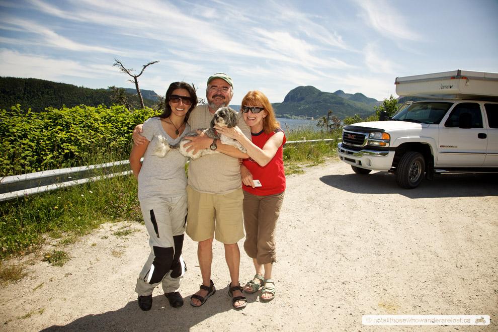Paula, Bob, Jeanette and Peanut