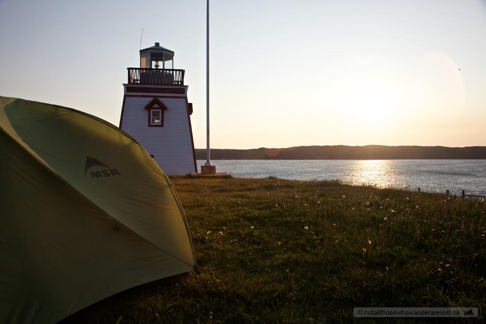 Sunrise at Fishing Point