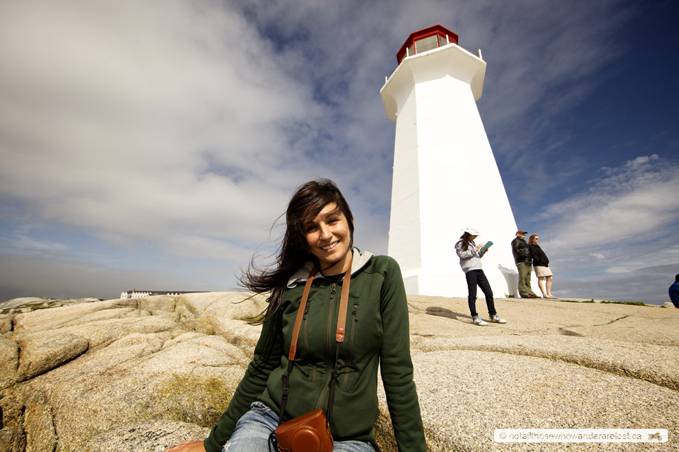 Paula At Peggy's Cove