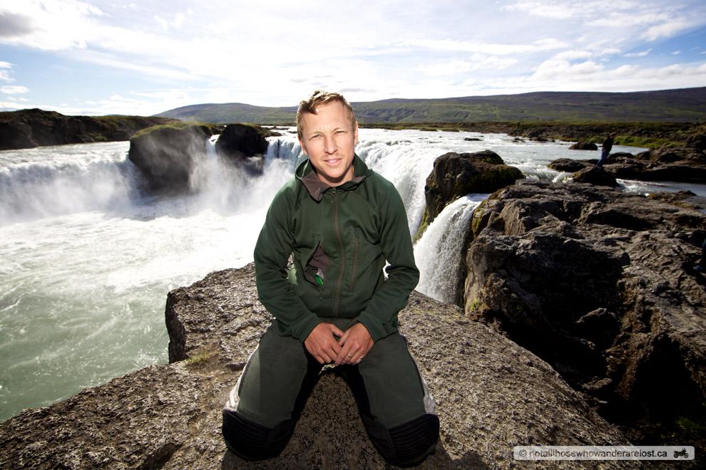 Me At Goðafoss