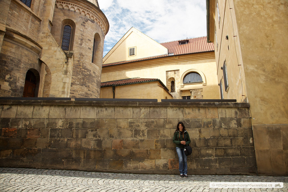 Paula In Prague's Old Town