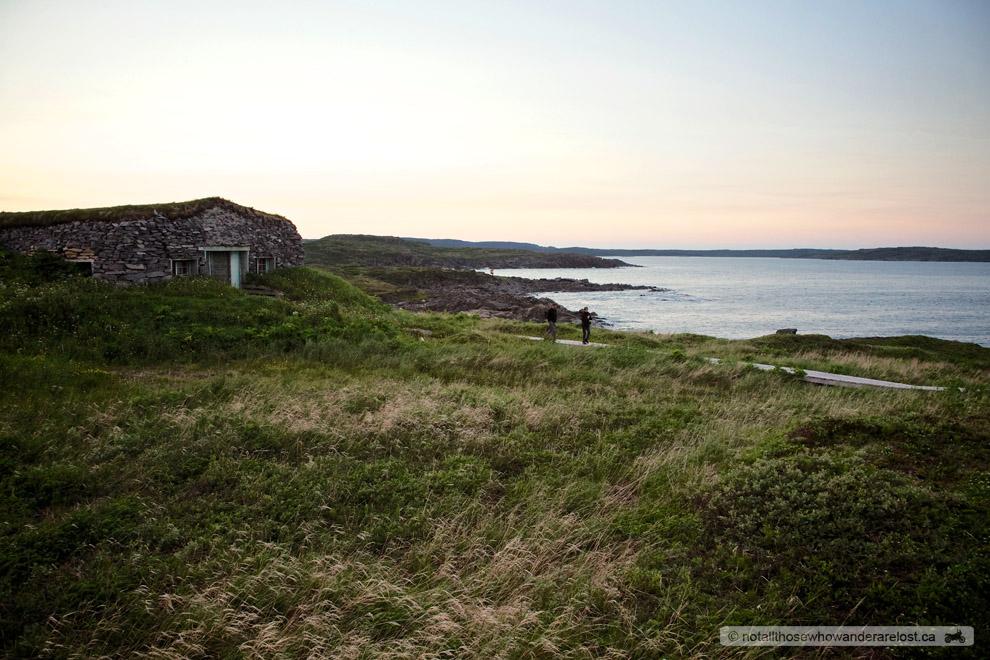 Viking Hut at Fishing Point