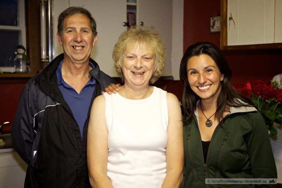 Bernard, Diane & Paula