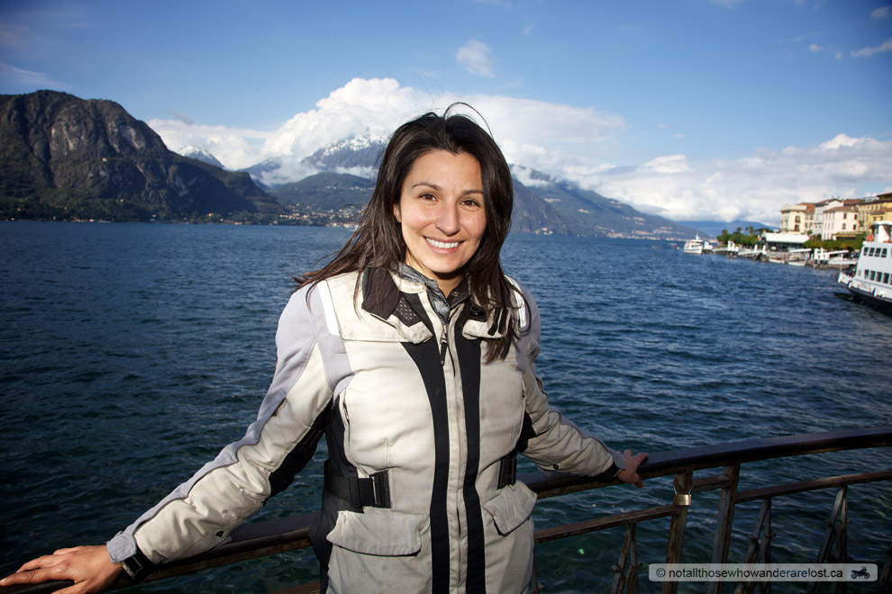 Paula At Lake Como