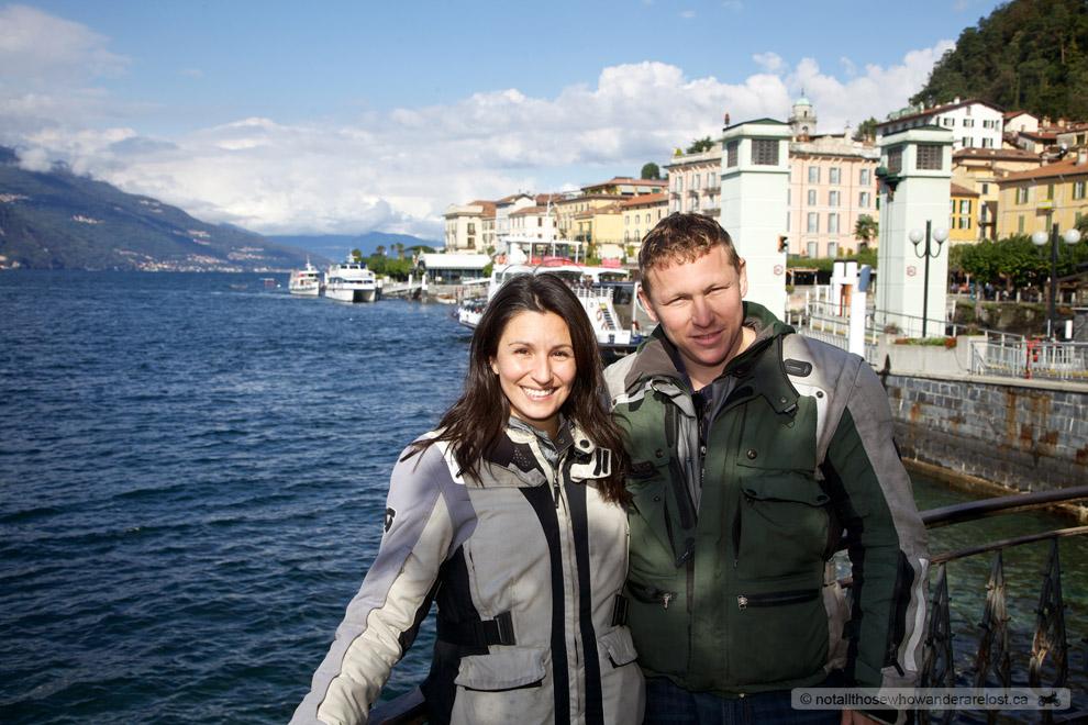 Paula & I In Bellagio, Italy