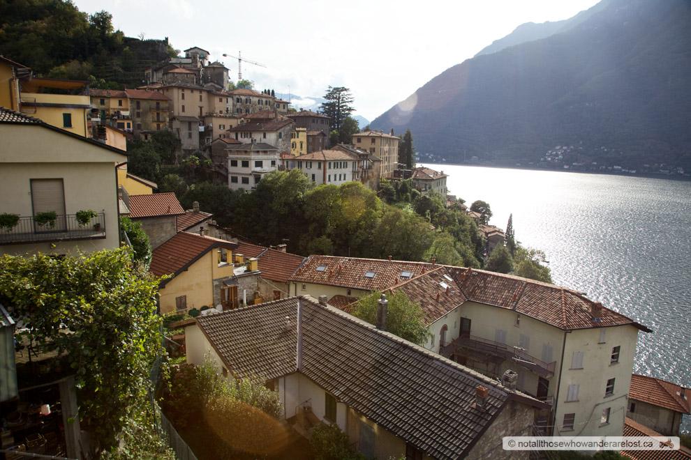 Riding Along Lake Como