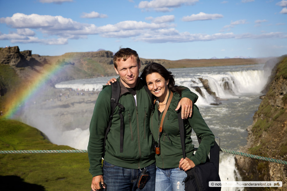 Paula & I At Gullfoss