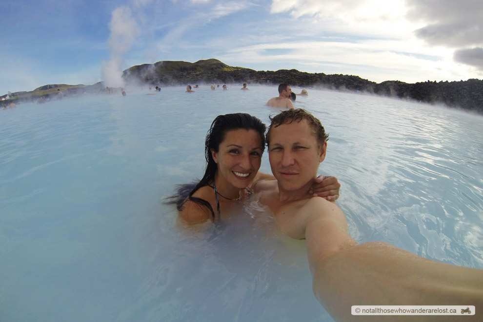Paula & I At The Blue Lagoon