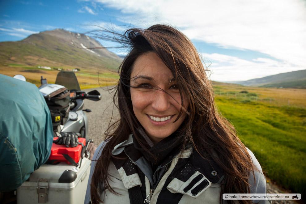 Paula In Eastern Iceland