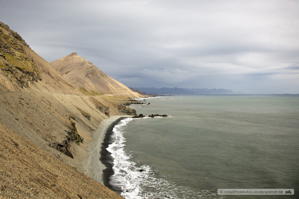 The Black Sand Shores of Southeastern Iceland
